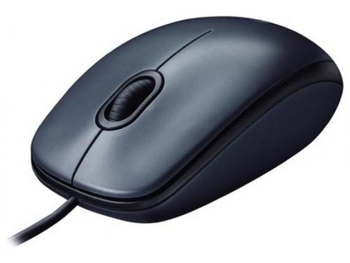 Мышка Logitech Mouse M100 Black USB, вид 1