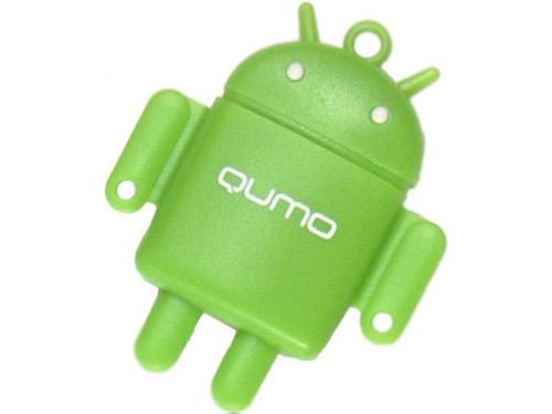 Карта памяти Qumo microSDHC class 10 32GB + Fundroid USB Card Reader Green, вид 5