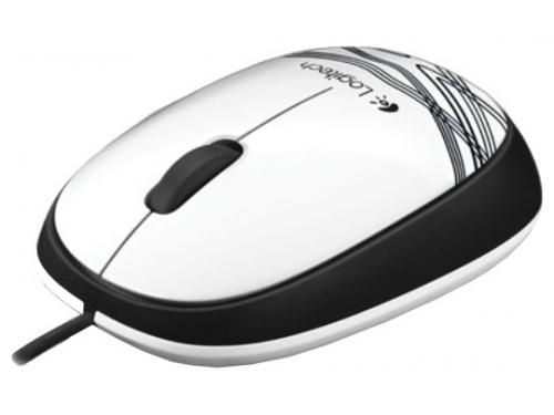 ����� Logitech Mouse M105 White, ��� 3