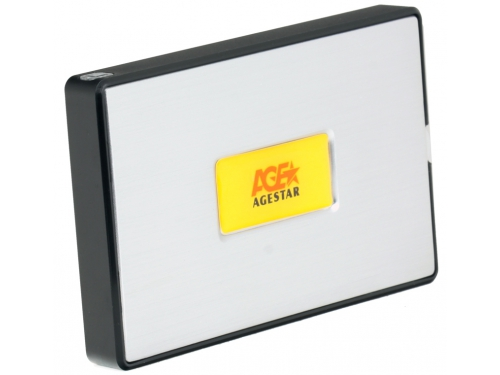 Корпус для жесткого диска Agestar SUB2A11 Silver, вид 1