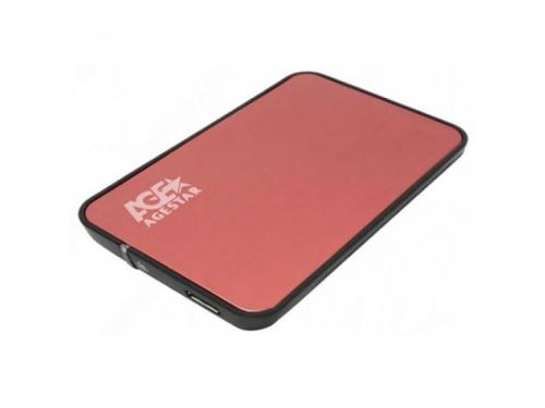 Корпус для жесткого диска AgeStar 3UB2A8 Red USB 3.0, вид 1