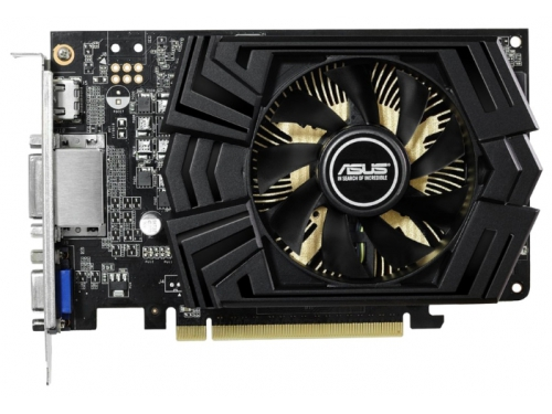 Видеокарта GeForce ASUS GeForce GTX 750 Ti 1020Mhz PCI-E 3.0 2048Mb 5400Mhz 128 bit 2xDVI HDMI HDCP, вид 1