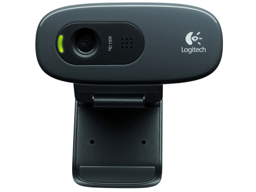 Web-камера Logitech HD Webcam C270, чёрная, вид 2