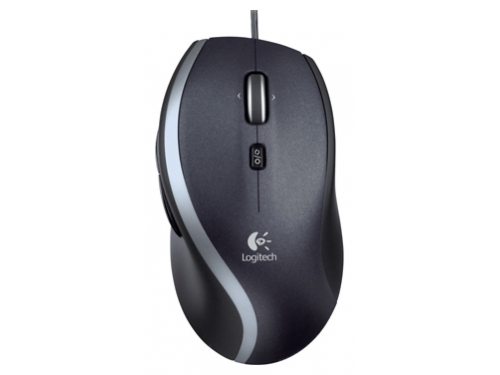 Мышка Logitech Corded Mouse M500 Black USB 2014, вид 1