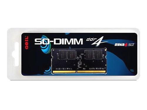 Модуль памяти GeIL GS48GB2400C16S (DDR4, 1x8Gb, 2400MHz, CL16, SO-DIMM), вид 1