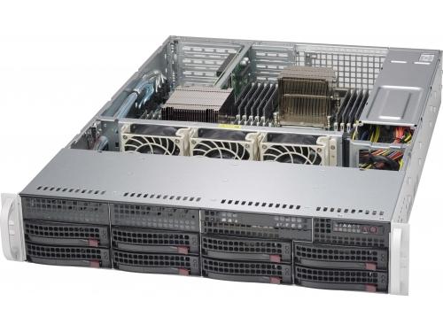 Корпус SuperMicro CSE-825TQ-R740LPB, вид 1