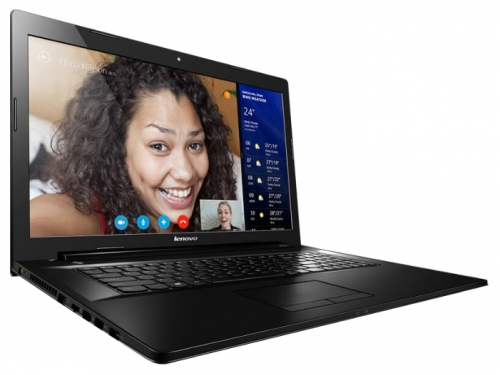 Ноутбук Lenovo IdeaPad G7080, чёрный , вид 1