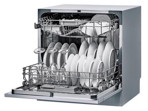 Посудомоечная машина Candy CDCP 8/E-S, серебристая, вид 3
