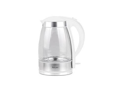 Чайник электрический Rolsen RK-3717G, белый, вид 1