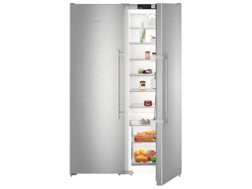 Холодильник Liebherr SBSef 7242, серебристый, вид 2