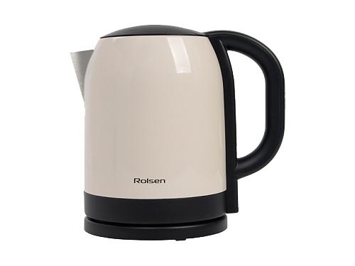 Чайник электрический Rolsen RK-2718M, бежевый, вид 1