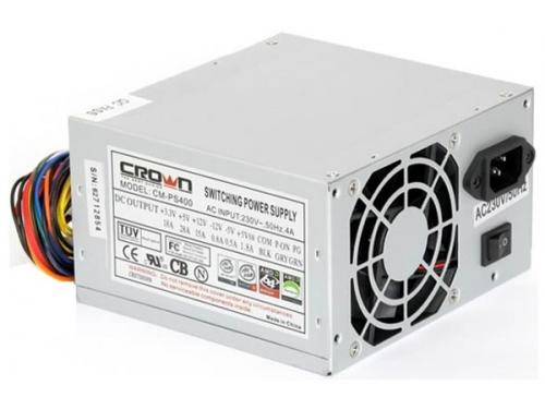 Блок питания Crown 400W CM-PS400, вид 2