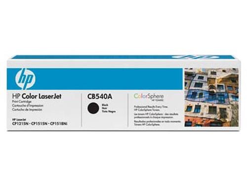 Картридж для принтера HP CB540A, черный, вид 2