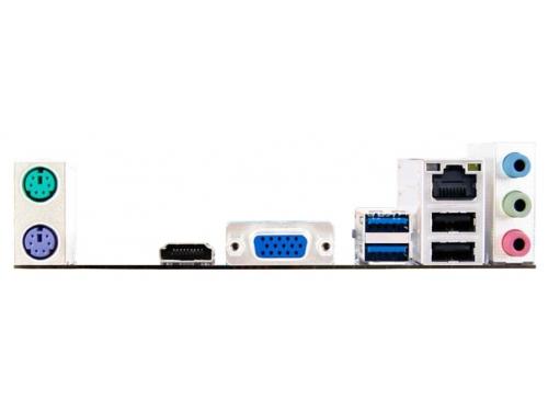 Материнская плата BIOSTAR H81MHV3 Soc-1150 H81 DDRIII mATX USB3.0 HDMI/VGA, вид 2