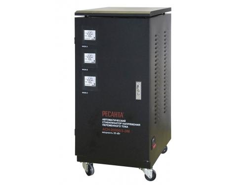 Стабилизатор напряжения Ресанта ACH-20000/3-ЭМ, вид 1