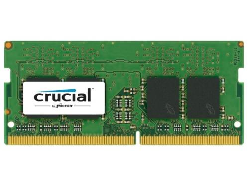 Модуль памяти DDR4 16Gb 2400MHz, Crucial CT16G4SFD824A RTL PC4-19200 CL17 SO-DIMM 260-pin 1.2В, вид 1