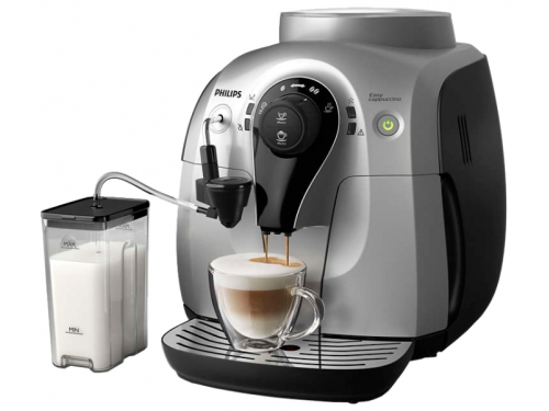 Кофемашина Philips HD8654/59, черно-серебристая, вид 1