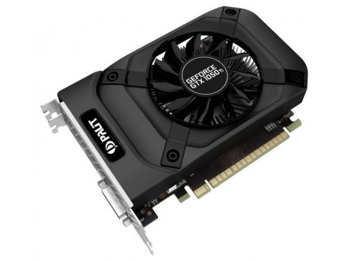 Видеокарта GeForce Palit GeForce GTX 1050 1290Mhz PCI-E 3.0 4096Mb 7000Mhz 128 bit DVI HDMI (PA-GTX1050Ti StormX 4G), вид 3