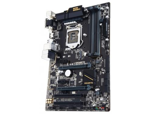 Материнская плата Gigabyte GA-B150-HD3 (Soc-1151, DDR4, 2xPCIx16), вид 1