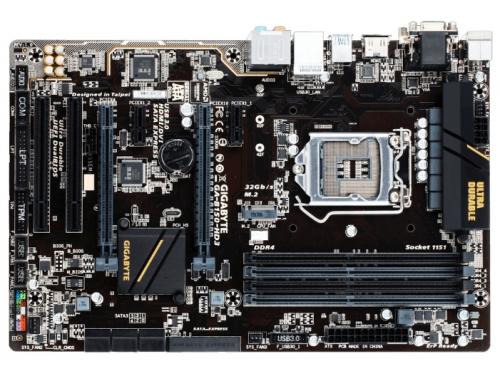 Материнская плата Gigabyte GA-B150-HD3 (Soc-1151, DDR4, 2xPCIx16), вид 2