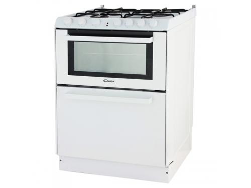 Плита Candy Trio 9501/1 W (газоэлектрическая, со встроенной посудомоечной машиной), белая, вид 1
