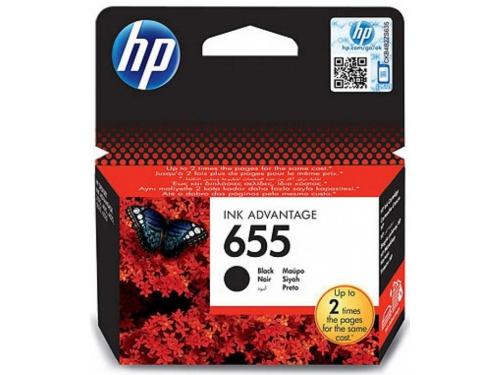 Картридж HP №655 HP-CZ109AE Black, вид 2
