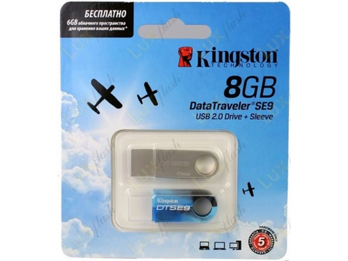 Usb-������ Kingston DataTraveler SE9 8GB �������, ��� 3