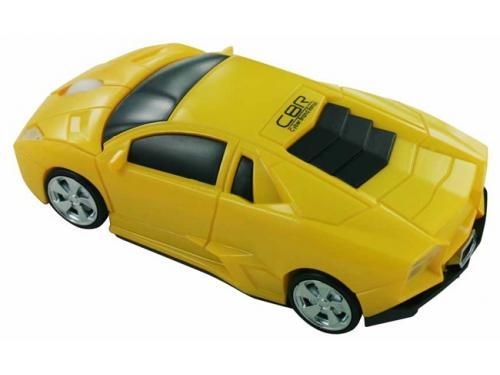 Мышка CBR MF 500 Bizzare Yellow USB, вид 2