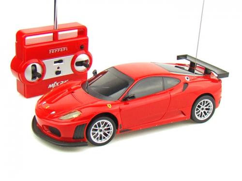 Радиоуправляемая модель MJX Ferrari F430 GT Red, вид 2