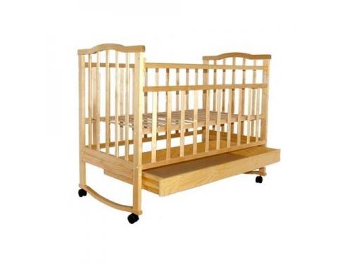 Детская кроватка Агат Золушка-2, cветлая, вид 1