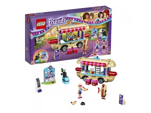 Конструктор LEGO Friends 41129 Парк развлечений: фургон с хот-догами, вид 1