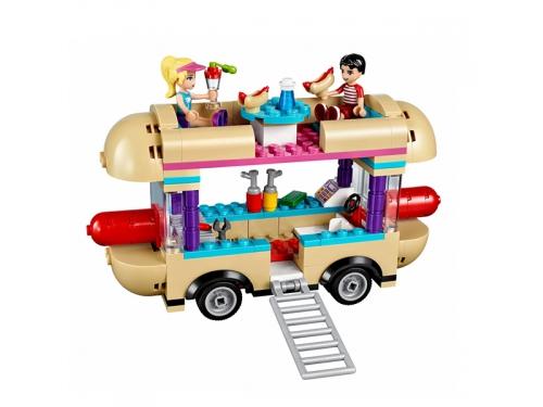 Конструктор LEGO Friends 41129 Парк развлечений: фургон с хот-догами, вид 4