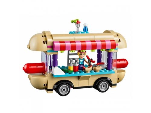 Конструктор LEGO Friends 41129 Парк развлечений: фургон с хот-догами, вид 5