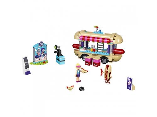 Конструктор LEGO Friends 41129 Парк развлечений: фургон с хот-догами, вид 6