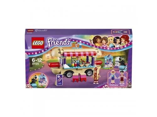 Конструктор LEGO Friends 41129 Парк развлечений: фургон с хот-догами, вид 7