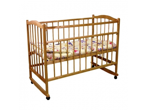 Детская кроватка Фея 204 медовая, вид 1