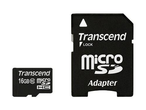 Карта памяти Transcend TS16GUSDHC10, вид 2