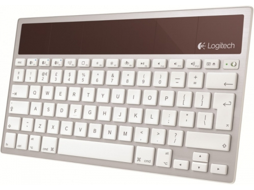 Клавиатура Logitech Wireless Solar Keyboard K760 Silver Bluetooth, вид 2