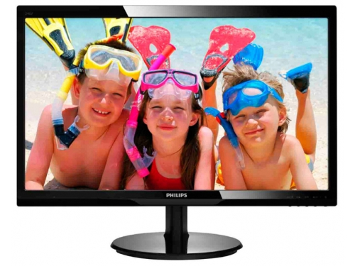 Монитор Philips 246V5LHAB Black, вид 1