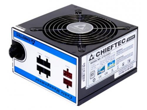 Блок питания Chieftec CTG-650C 650W, вид 2