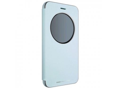 Чехол для смартфона Asus View Flip Cover для Asus ZenFone ZE552KL (90AC0160-BCV012), голубой, вид 1