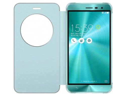 Чехол для смартфона Asus View Flip Cover для Asus ZenFone ZE552KL (90AC0160-BCV012), голубой, вид 2