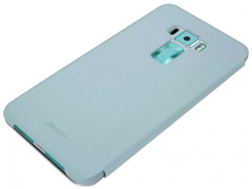 Чехол для смартфона Asus View Flip Cover для Asus ZenFone ZE552KL (90AC0160-BCV012), голубой, вид 3