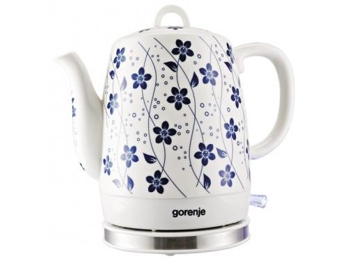 Чайник электрический Gorenje K10C, белый