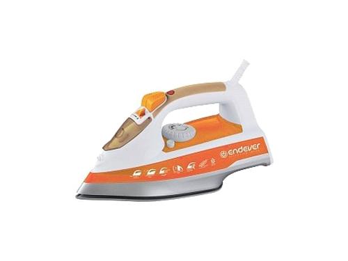 Утюг Endever Skysteam-716, белый/ оранжевый, вид 1