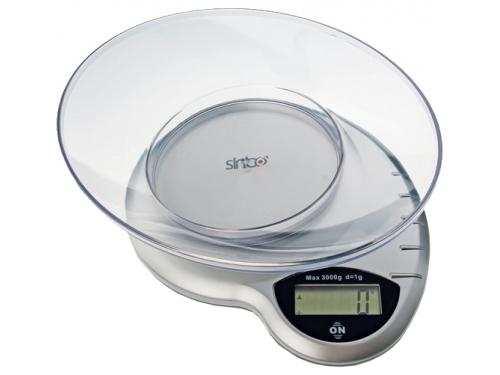 Кухонные весы Sinbo SKS-4511, серебристые, вид 1