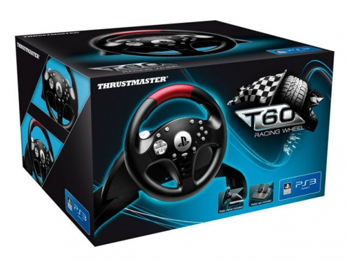 Игровое устройство ThrustMaster T60 Racing PS3 Official Sony Licence черный, вид 5