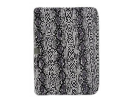 Чехол для планшета Kuchi для Galaxy Tab3 P5200 (фиолетовый змея), вид 4