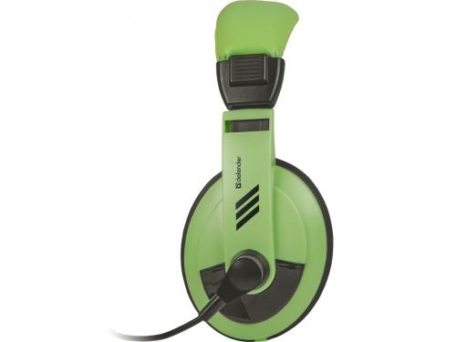 Гарнитура для ПК Defender Gryphon HN-750, зеленая, вид 1