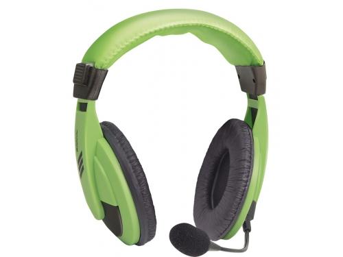 Гарнитура для ПК Defender Gryphon HN-750, зеленая, вид 3